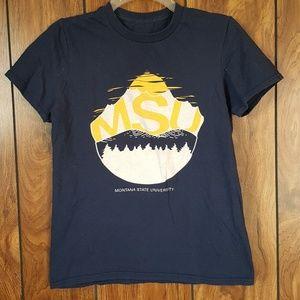 Tops - Montana State University Shirt